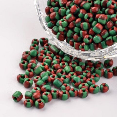Seed Beads - 6/0 - Sea Green Opaque - 50g
